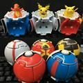 Горячие Продажа 5 Цветов PokeBall Juguetes ПВХ Фигурку Супер Мастер Японского Аниме Brinquedos Детей Игрушки