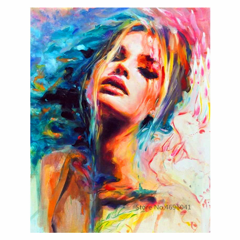 Painting By Numbers Frameworks Coloring By Numbers Pictures Home Decor Canvas Painting By Numbers Decorations RSB8122