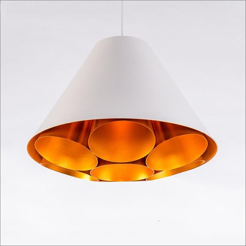 Nordic Aluminum Dining Room Pendant Lamp Simple Art Style Restaurant Living Room Lamp Coffee Shop Decoration Light Free Shipping