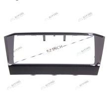 Voor VW Passat B8 2018-MIB 3 CD 9.2 8.0 doos trim zwarte verf Radio frame PANEL CD Platen