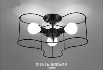 Tavan lambası yaratıcı çocuk odası kişilik çalışma İskandinav Kore yatak odası sıcak oda kısmi odası sanat tavan zcl