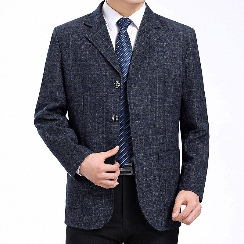 Gray Blazer Vérifier Blazers Blazer Plaid Gris D'affaires Mâle Hommes Hombre Tenues Blue Peu Manteaux Costume Automne Vestes Homme Printemps Waeolsa gray Motif q8tvHw