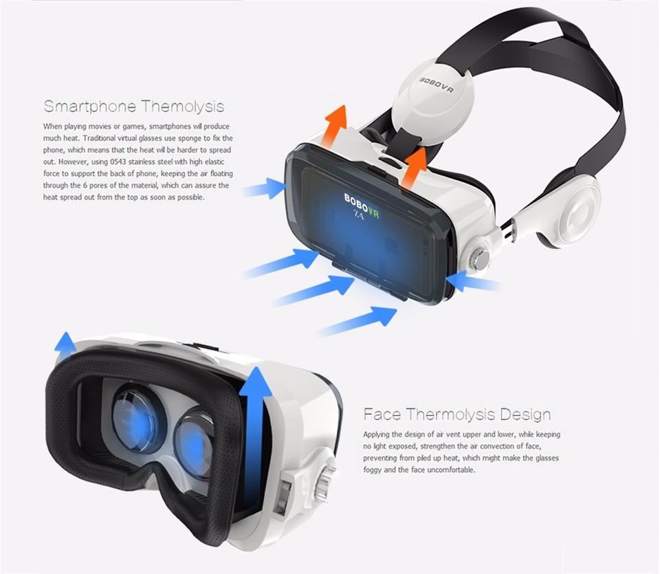 VR BOX BOBOVR Z4 Virtual Reality goggles 3D Glasses Google cardboard BOBO VR GLASSES Z4 Headset for 4.3 - 6.0 inch smartphones 33