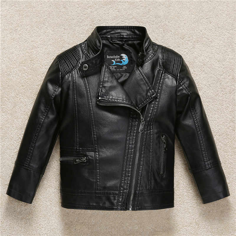 cb65cf078 Detail Feedback Questions about Boys Kids leather jacket Sobretudo ...