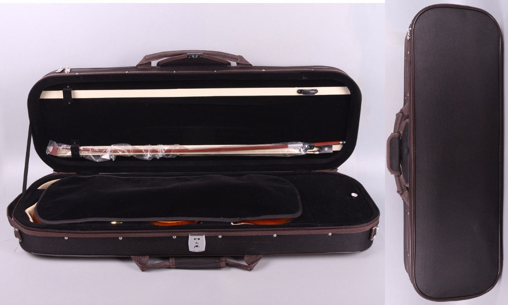 New 4/4 violin Case Water Proof Oxford cloth Light Durable Black Super value #9 only case new ukulele case 23 water proof glass fiber case high quality dropshipping wholesale yellow