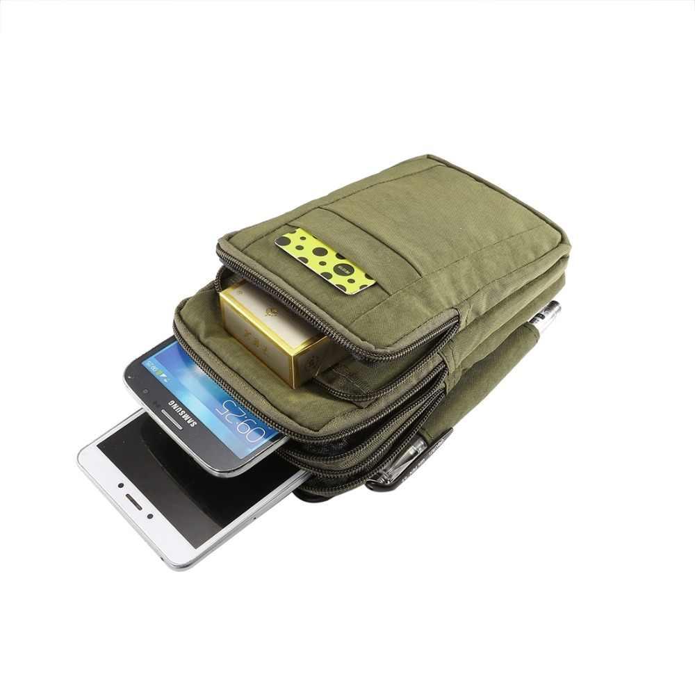 Универсальный чехол для смартфона 7 дюймов, сумка через плечо, поясной ремень, кошелек, сумка для Xiaomi 8/iPhone Xs Max/XR/Nubia X