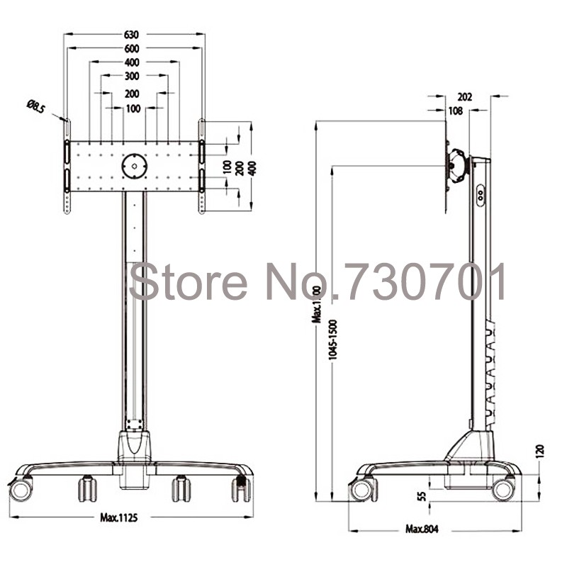 electric tv lifting stand (2)