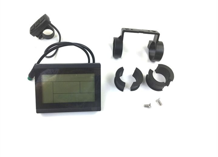 Conversion Kits Ebike 24v 36v 48v Intelligent Kt Lcd Lcd7u Ktlcd7 Control Panel Display Electric Bicycle Bike Parts Kt Controller Electric Vehicle Parts