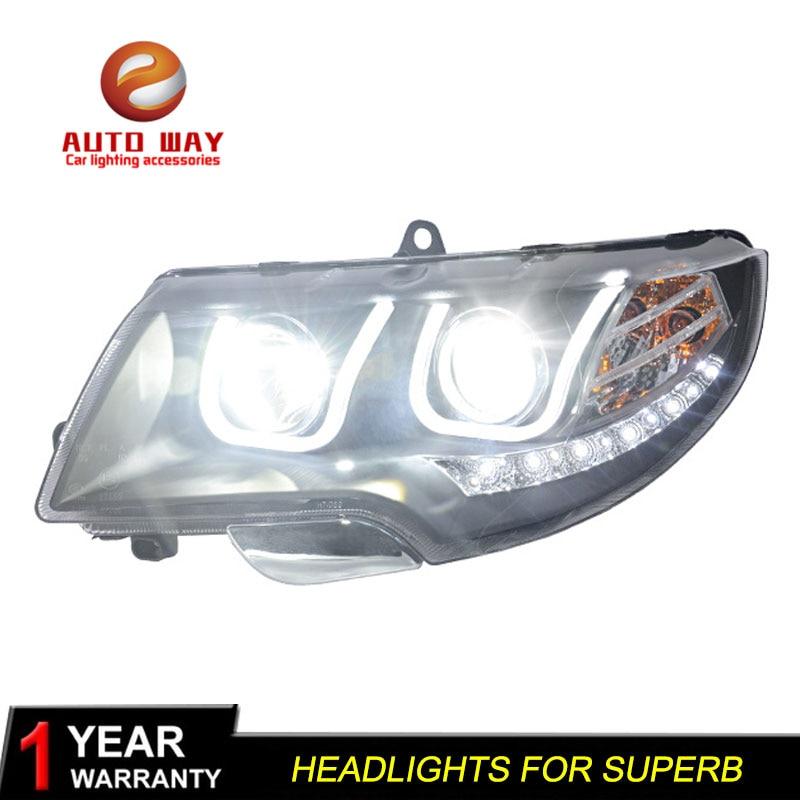 Rasti i llambës së kokës për stilimin e makinave për Skoda - Dritat e makinave - Foto 2