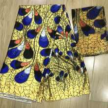 Африканская мягкая имитация шелка ткань для вечернего платья