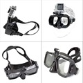 GoPro Dive Scuba Diving Mask mount compatible Go Pro Hero 1, 2, 3, 3+ and 4, White editions also for snorkel snorkeling