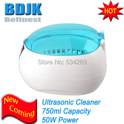 New Arrival 750ML Blue Digital Ultrasonic Cleaner for Various Items Jewelry Watch Glasse Dental CD 750ml plastic cd dvd vcd ultrasonic cleaner