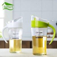 New Large Capacity Oiler Household Glass 620ml Leak Oiler Kitchen Supplies Seasoning Bottle Oil Bottle Vinegar