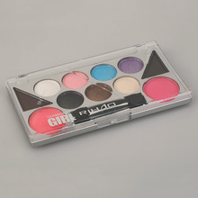 New Professional Woman Makeup RIHAO 6 Color Eyeshadow Palett