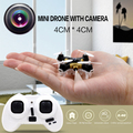 2016 New CX-10 Mini 2.4G 4CH 6 Axis LED RC Quadcopter Indoor flying Drones with camera for children gift