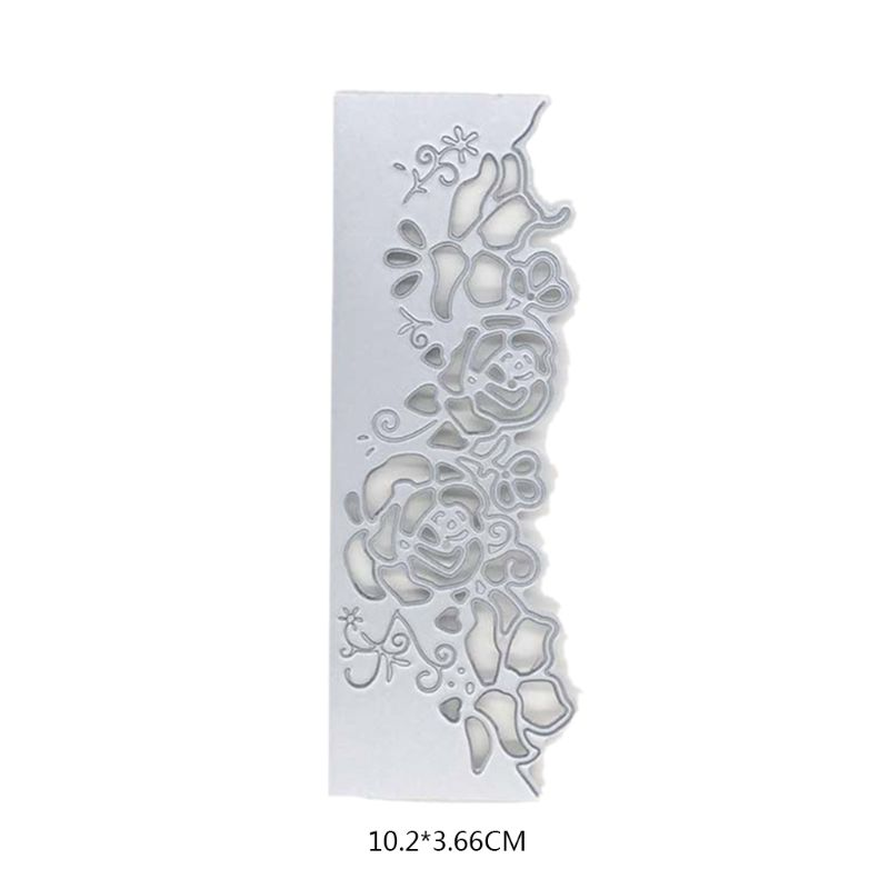Flower Lace Metal Cutting Dies Stencil Scrapbooking Paper Card Embossing Craft
