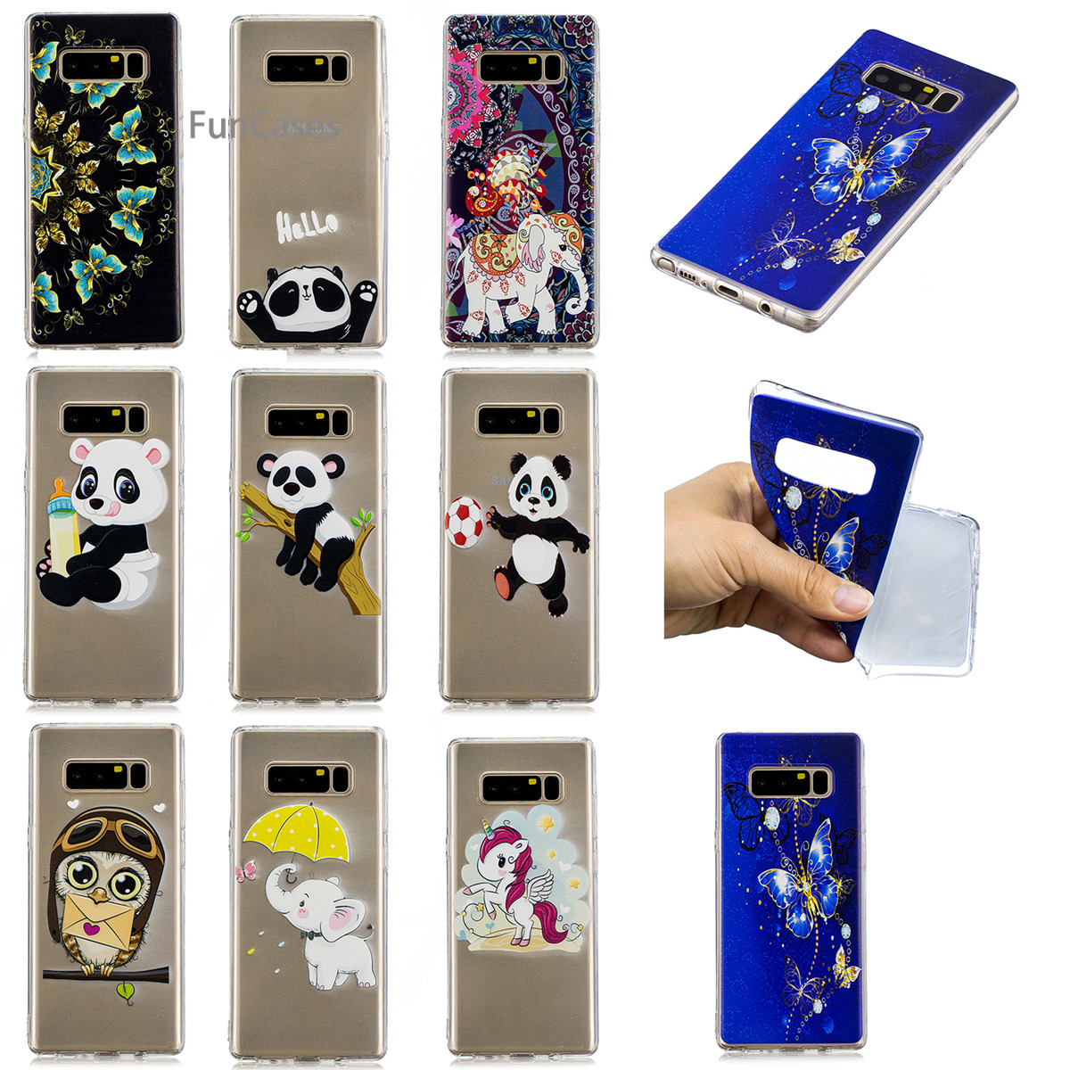 Sports Bottle Phone Case: Feeding Bottle Phone Case SFor Cellular Samsung Note 8