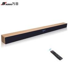 JY Audio 2.1 Inalámbrico Bluetooth TV Barra De Sonido Del altavoz de Subgraves Sistema de Cine En Casa de Sonido Envolvente Estéreo Ordenador Colgar de La Pared Barra de Sonido