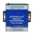 DAM112 Modbus RTU IO модуль 4 цифровых входа управление 4 цифрового релейного выхода ретранслятора расширяемые модули для S27X MXX Seris