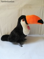 new style about 26cm lovely Toucan bird plush toy soft toy Christmas gift w0180