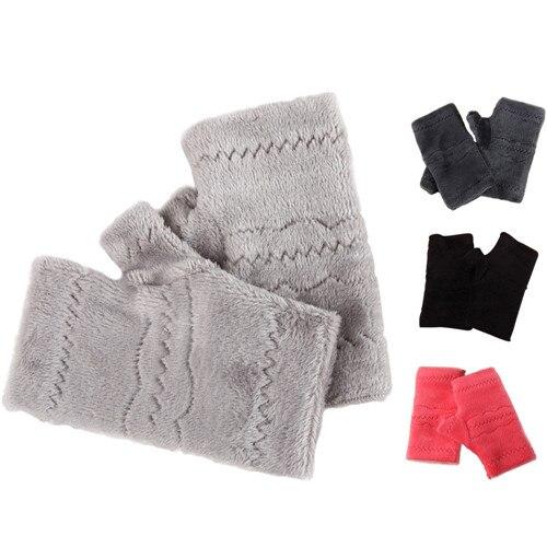 High Quality Winter Autumn gloves women Thick Warm Gloves Keyboard Leak Finger fitness gloves christmas