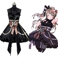 Love Live Lovelive Initial D School Idol Stage Kotori Minami Dress Cosplay Costume for halloween carnival Full set