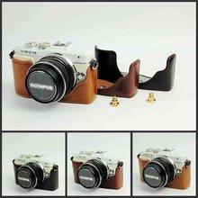 Чехол для камеры из искусственной кожи для Olympus Pen Lite E-PL7 E-PL8 EPL7 EPL8