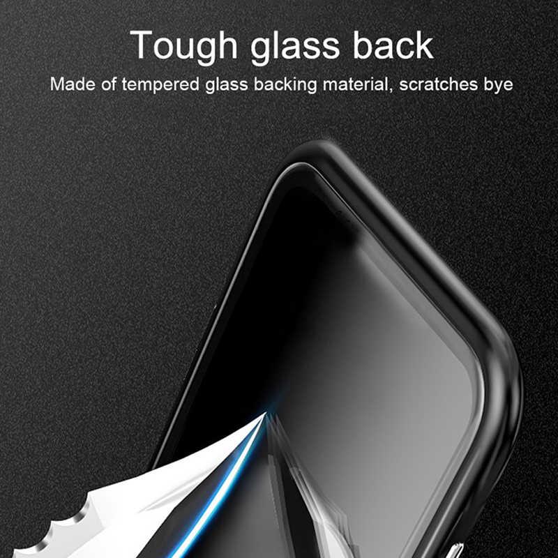 עבור Xiaomi Redmi הערה 7 מגנטי ספיחה מקרי על Ksiomi Note7 לא 7 מתכת מסגרת לבנות מגנט כיסוי xaomi Note7 פרו Coque