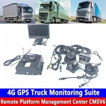 Жесткий дисковый рекордер 4 г GPS грузовик диагностический комплект кран/Грузовик Автоцистерна/комбайн канала вождения регистраторы жесткий диск мониторинга