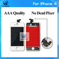 Grade Test AAA++ 100% No Dead Pixel For iPhone 4 LCD Display Screen  Replacement  Black and White Free DHL