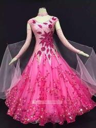 Стандартный конкурс платье для танцев Для женщин индивидуальные Размеры Костюмы для Фламенко юбка взрослых высокое качество современном