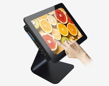 """LCD All In One PC10""""12"""" 15"""" 17"""" 19"""" Inch Touch Screen Desktop Computer"""