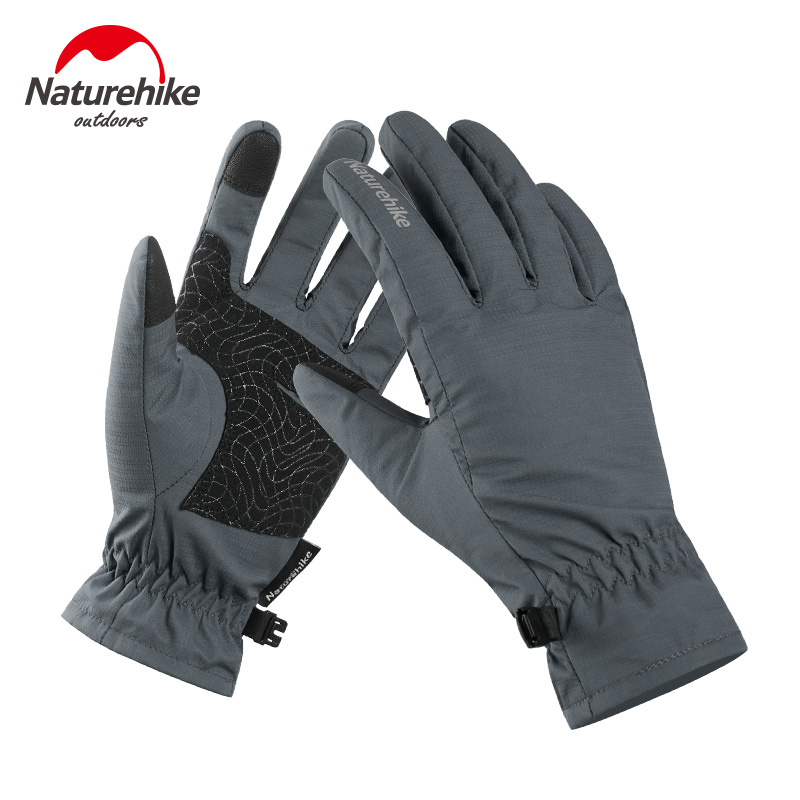 Naturehike Women Men Warm Winter Outdoor Waterproof Cycling Sports Gloves Cold Weather Tounch Screen Hiking Running Gloves