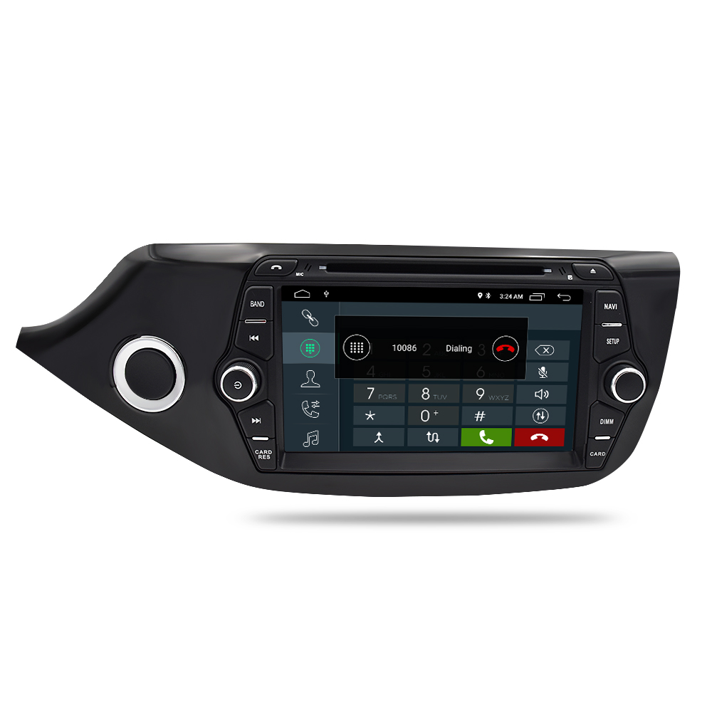 Image 3 - Android 9.1 Car DVD Player for Kia Ceed 2013 2014 2015 Touch Screen 2 Din Audio Radio Stereo WiFI Bluetooth GPS Navi Multimedia-in Car Multimedia Player from Automobiles & Motorcycles