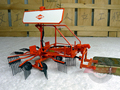 rare Model of Forage Harvester Forage collectors Tractor accessories model UH 1:32 Alloy Collection Model