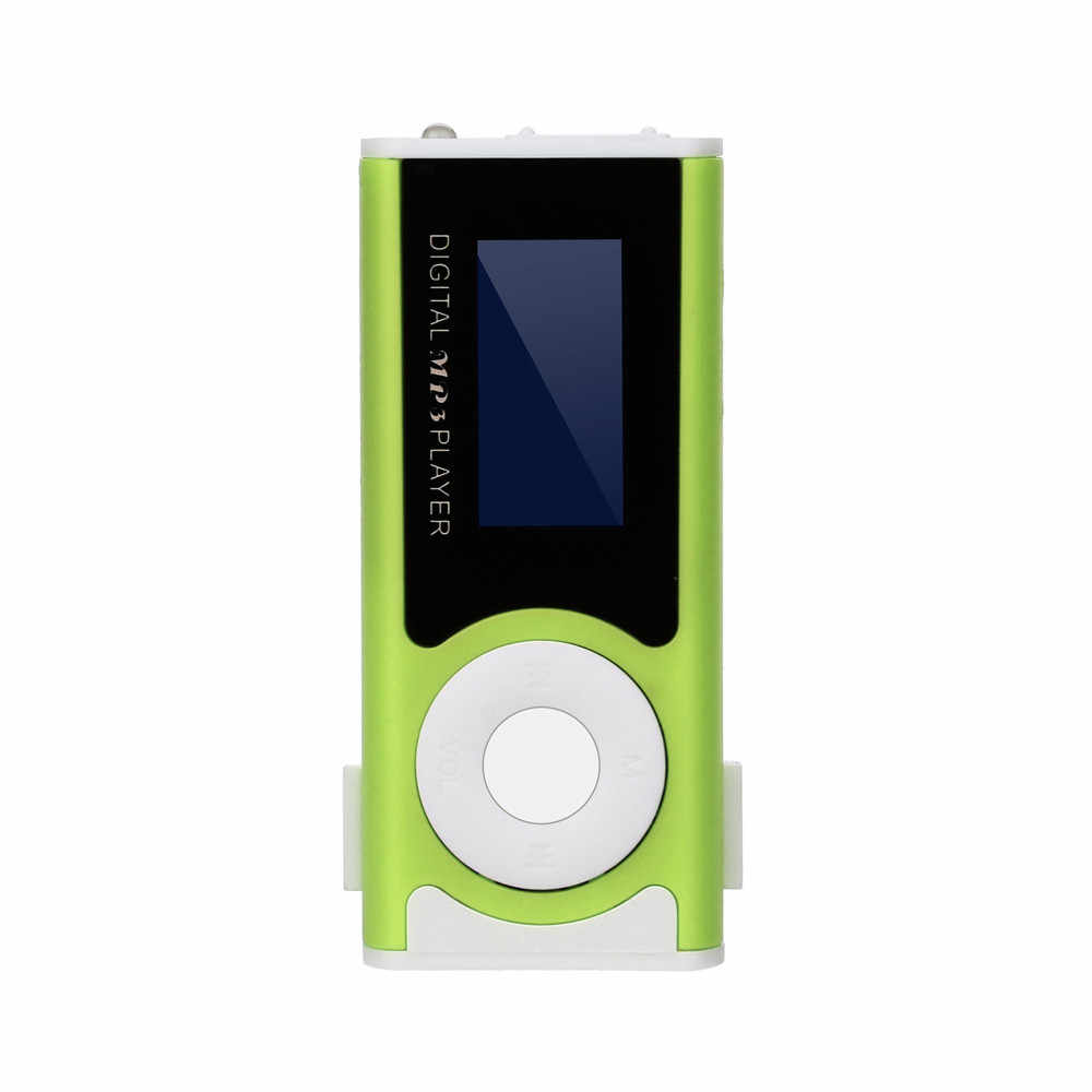2019 جديد الأزياء البسيطة كليب USB MP3 لاعب دعم مايكرو SD TF بطاقة الموسيقى وسائل الإعلام