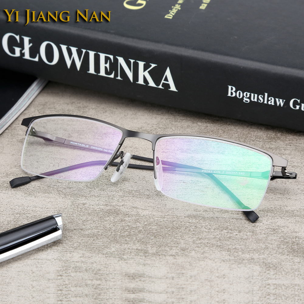 Yi Jiang Nan Merk Licht marcos de lentes opticos hombre oculos - Kledingaccessoires