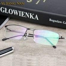 Yi Jiang Nan Značka světla marcos de lentes opticos hombre oculos masculino lunettes de vue homme progressive ophtalmique brýle