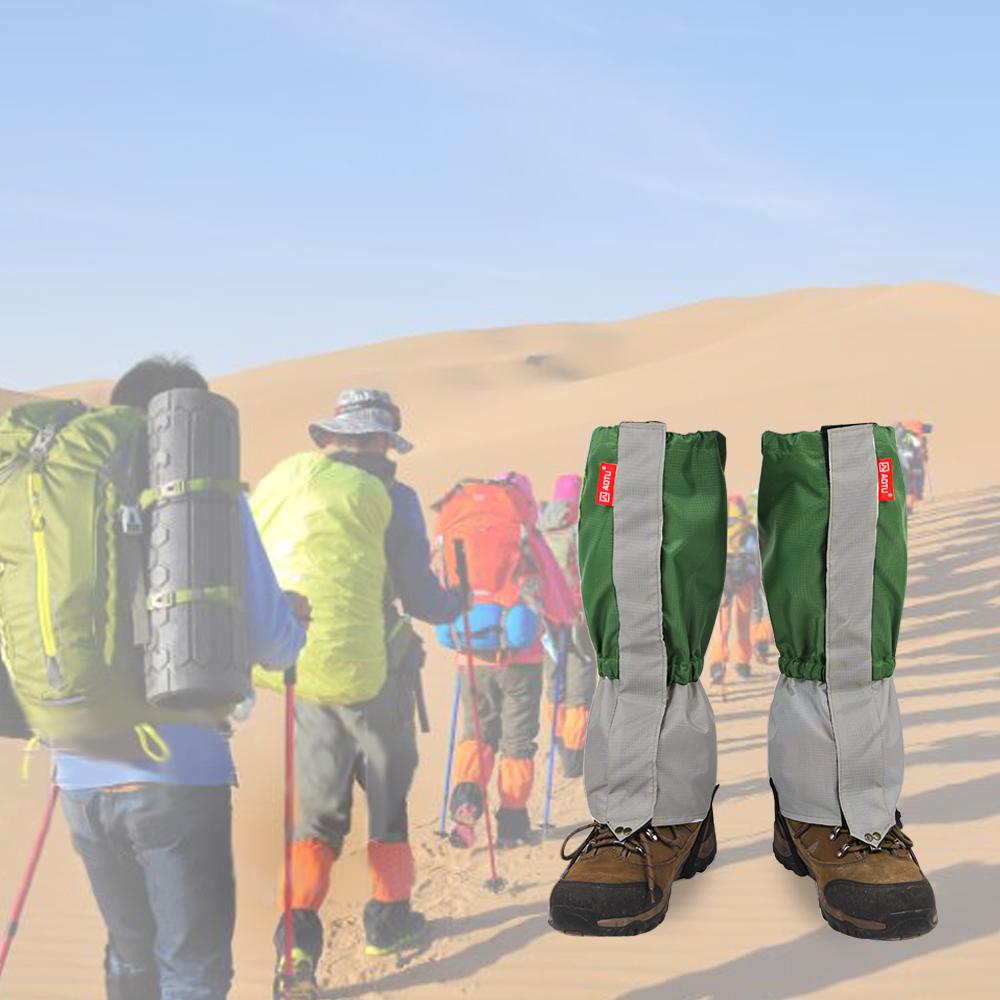 TOMOUNT Unisex Waterproof Legging Gaiter Leg Cover Camping Hiking Ski Boot Travel Shoe Snow Hunting Climbing Gaiters Windproof 7