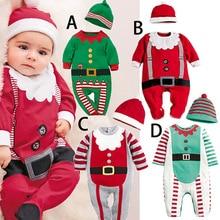 Jumpsuit Infant Christmas Newborn-Baby Baby-Girl Romper Spring Long-Sleeve Cotton Cartoon