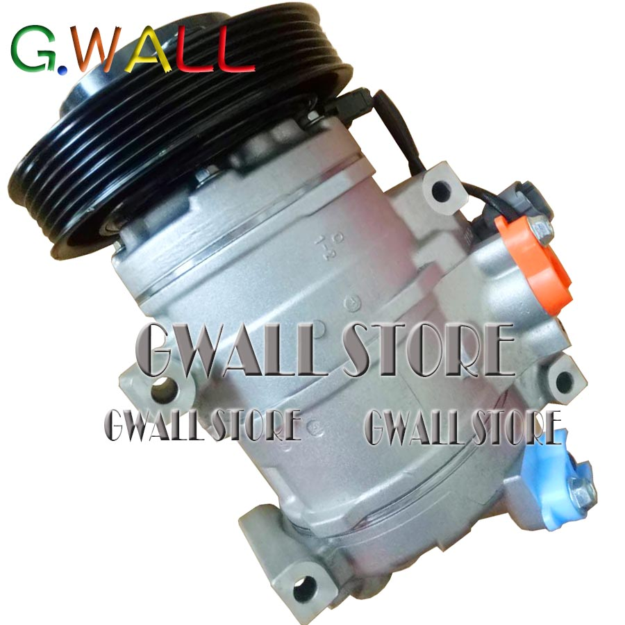 Car A/C AC Compressor For Acura MDX / TL 3.5L V6 Gas With Clutch Honda 98307