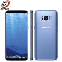 """Original Neue Samsung Galaxy S8 G950F 4G LTE Handy 5 8 """"4 GB RAM 64GB ROM Exynos 8895 wasserdichte Staubdicht Einzelne SIM Telefon-in Handys aus Handys & Telekommunikation bei"""