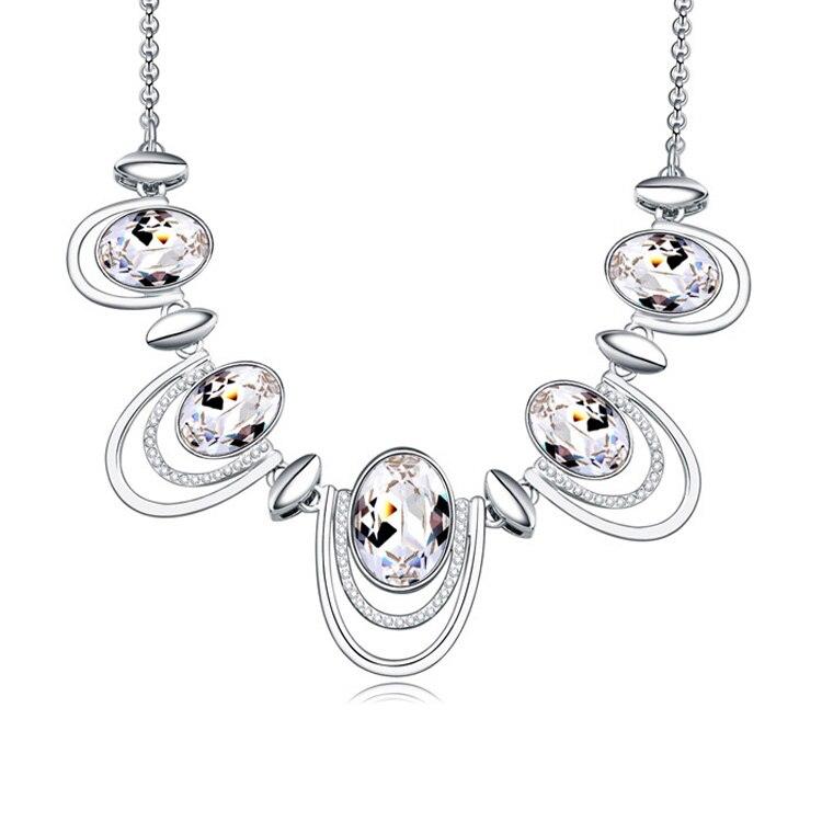 2018 colliers et pendentifs en cristal plaqué alliage bijoux et bijoux 2016 collier long femmes bijoux de mode en gros - 5