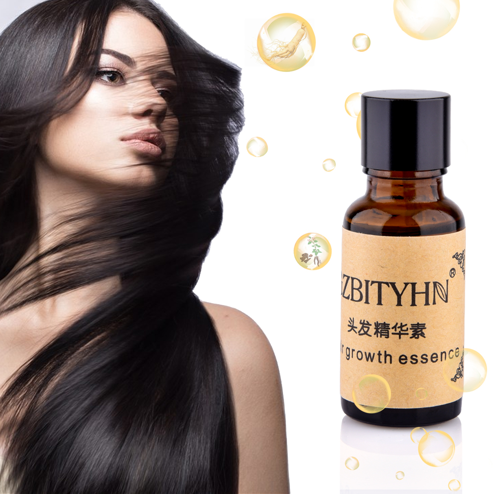Hair Growth Essence Anti Hair Loss Liquid Dense Dropshipping Discounted Price Hair Hairstyle Keratin Hair Care Products Sunburst