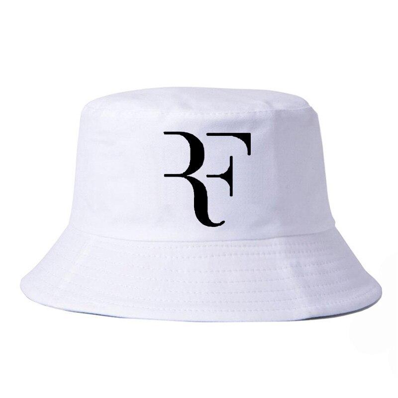 1dc0c6c4c41 Men Women fisherman hat Roger Federer RF bucket hats fashion Snapback Caps  harajuku pop fishing cap-in Bucket Hats from Apparel Accessories on ...
