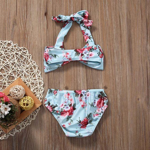 Online Shop Children\'s swimsuit girls bebek bikini swimwear 2017 ...