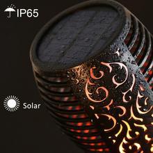 Waterproof Flickering Flame Solar Torch Light