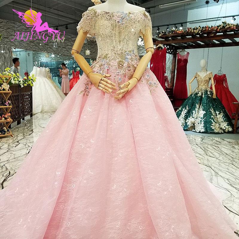AIJINGYU Gown Design Xiamen Gowns Moroccan Marriage Wedding Boho White Bridals Affordable Dresses 2018 Wedding Dress
