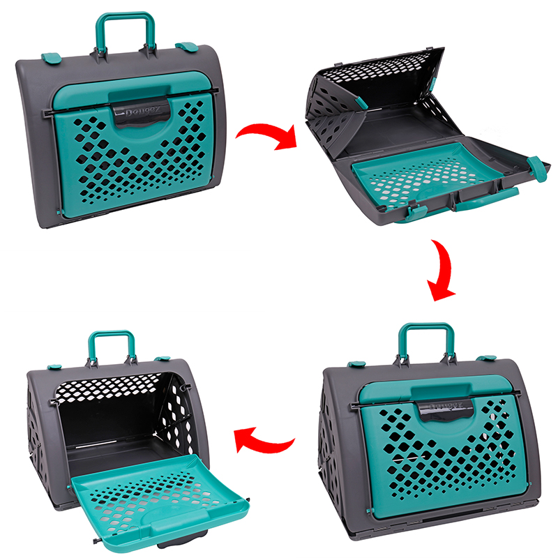 Domestic Delivery Pet Carrier Car Travel Hand Holding Cat bag Dog Foldable and convenient Environment friendly pet Breathable