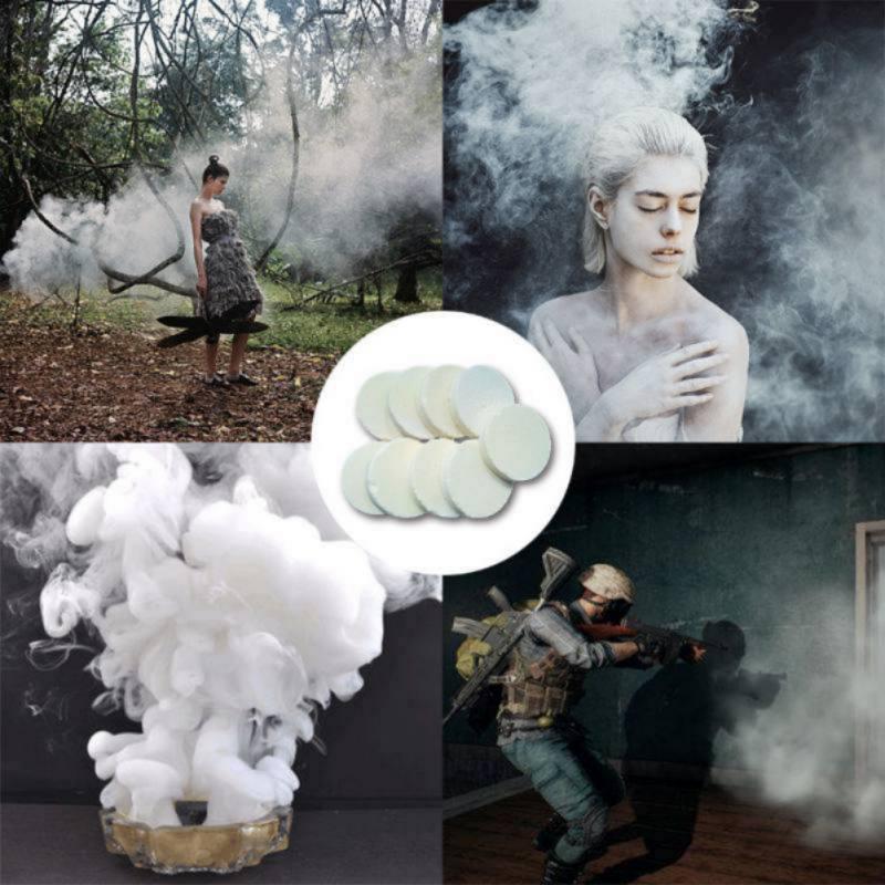 Fashion Colorful Smoke Cake Smoke Effect Show Round Bomb Photography Aid DIY Toy Gifts цена